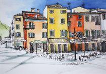 Promenade Garda, Italien von Inez Eckenbach-Henning