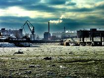 Hamburg, Winter 2 von Dadalus Uggla