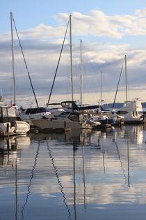 Seattle marina von Mircea Nicolescu