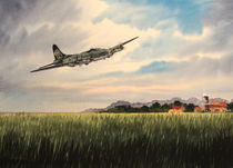 B-17 Over Norfolk England von bill holkham