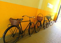 Old Bicycles von bebra