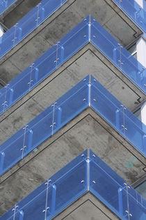 Blue balconies von Mircea Nicolescu