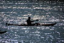 Kayaker von Mircea Nicolescu