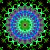 Mandala Hoffnung 1 von Christine Bässler