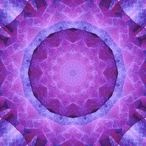 Mandala Weiblichkeit 2 von Christine Bässler