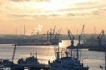 Hamburger Hafen I von juliane-brueggemann