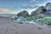 Caswell Bay Gower by Dan Davidson