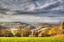 The Wye Valley von David Tinsley