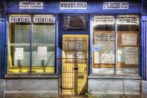 Ye Olde Print Shop von David Tinsley