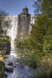 Pen-y-Garreg Dam by David Tinsley