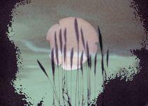 abstraktes Mondbild von Peter Norden