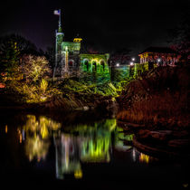Belvedere Castle At Night by Chris Lord
