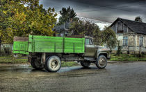 green truck von dizdetcpizainy