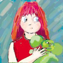 Red Hair Girl von dizdetcpizainy