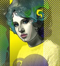 abstract portrait von dizdetcpizainy