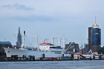 Hafenlandschaft by Olaf von Lieres