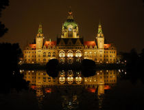 Rathaus in Hannover by Olaf von Lieres