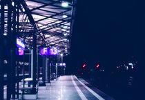 Am Bahnsteig by Olaf von Lieres
