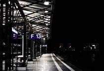 Am Bahnsteig  von Olaf von Lieres
