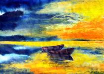 Boote im Meer von Irina Usova