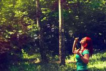 redhair girl in the forest von dizdetcpizainy