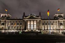 Berlin Reichstag by Mirko Freudenberger