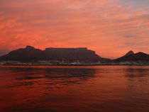 Cape Town (Kapstadt) Sonnenuntergang by Matthias Monien