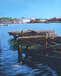 Southampton-northam-old-jetty-with-sea-birds