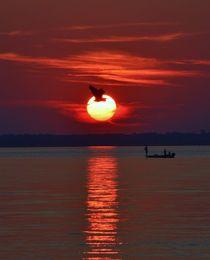 Sunset Fishing von Billy Bartholomew