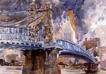 Roebling Bridge by Robert Halliday