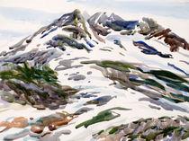 Chugach Snow Melt by Robert Halliday