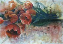 Tulpen aus dem Garten by Stefanie Ihlefeldt