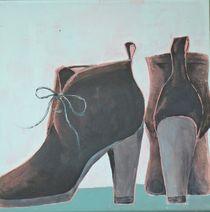Ankle Boots, schwarz by Stefanie Ihlefeldt