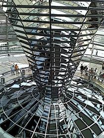 Berlin Bundesstag Kuppel von zeichenkraft