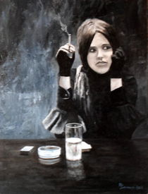 Sonja in Grisaille by Michael John Cavanagh