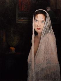 Lady in Lace Mantilla by Michael John Cavanagh