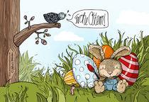 Frohe Ostern von Stefanie Twellmann