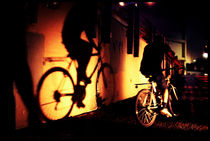 The Shadow And It's Cyclist by Larisa Kroshkin