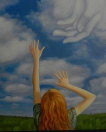 A girls faith by mik-goben
