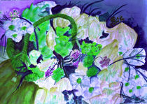 Korb mit Blumen by Irina Usova