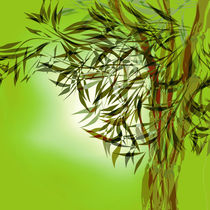 Bamboo Graphic Green by Lutz Baar