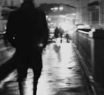 Silhouette of a man by Ekaterina Planina
