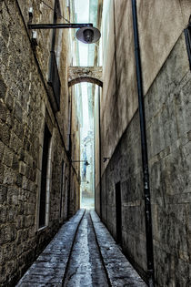 Narrow Street by Laura Benavides Lara