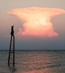 Fiery cloud. by Ekaterina Planina