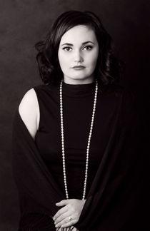 Vintage portrait. von Ekaterina Planina