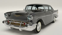 Chevrolet Bel Air 1957 - Black by Marco Romero