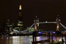 The Shard and Tower Bridge von David Pyatt
