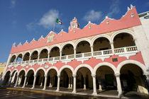 GOVERNMENT PALACE Merida Mexico by John Mitchell