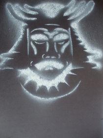 Samurai Stencil 2 by Justin Latimer