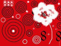 Rot Weiß Schwarz von Heide Pfannenschwarz